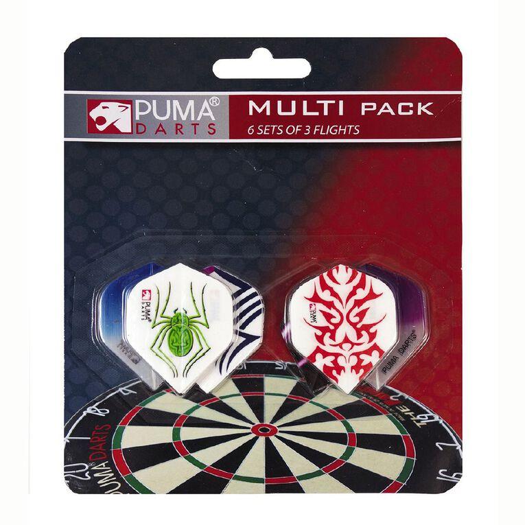 Puma Darts 6 Set Dart Flight Multipack, , hi-res
