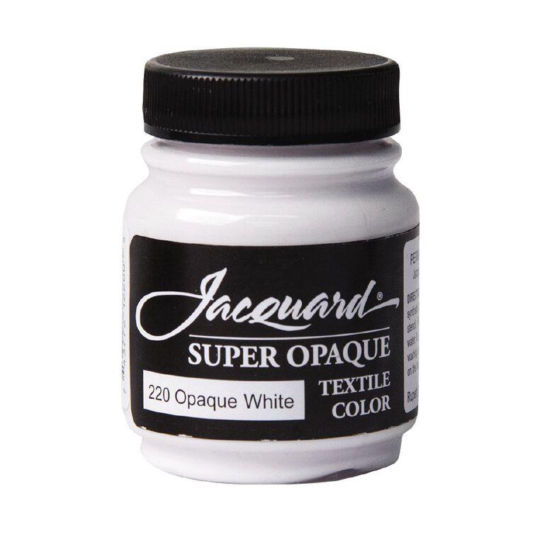Jacquard Textile Colours 66.54ml Super Opaque White, , hi-res