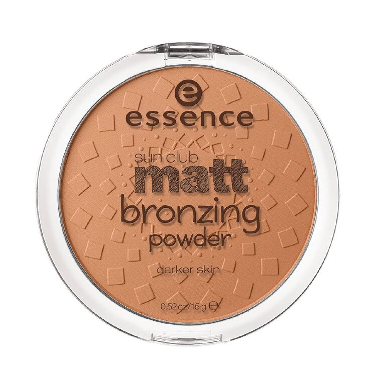 Essence Sun Club Matt Bronzing Powder 02, , hi-res