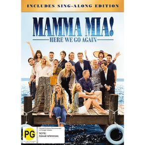Mamma Mia Here We Go Again DVD 1Disc
