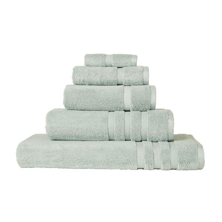 Living & Co Montreal Spa Towel Green Light 90cm x 150cm, Green Light, hi-res