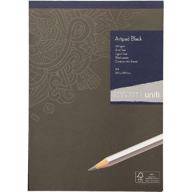 Uniti Platinum Artpad Black A4, , hi-res