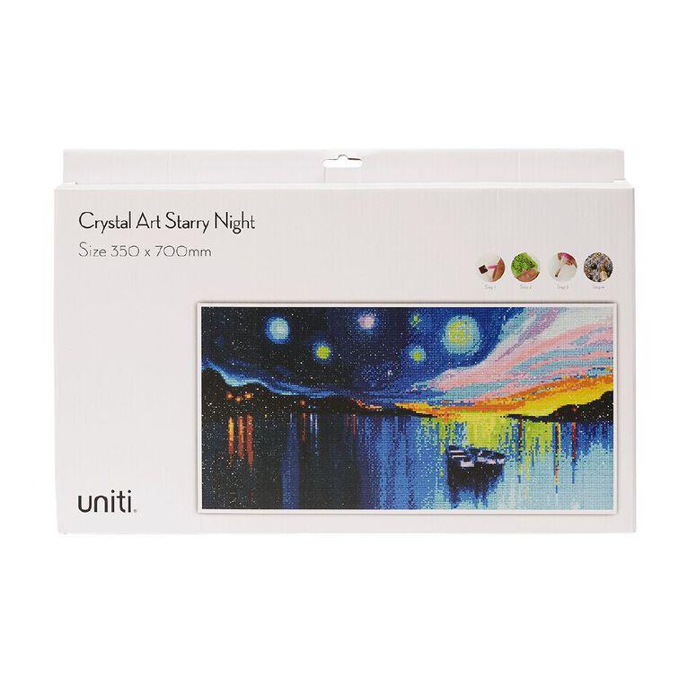 Uniti Crystal Art 35 x 70cm Starry Night, , hi-res