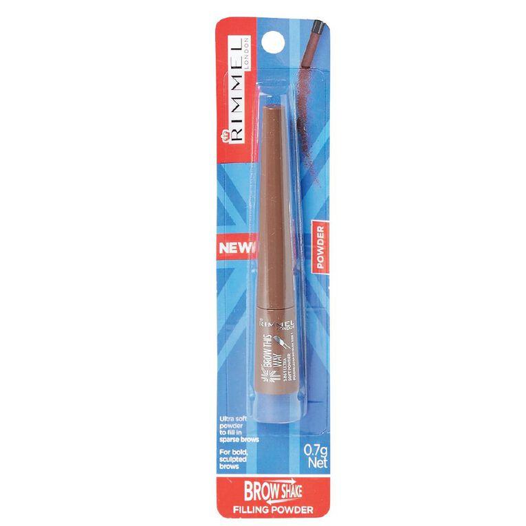 Rimmel Brow This Way Powder #002 Medium Brown, , hi-res