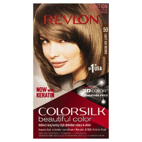Revlon Colorsilk Light Ash Brown 50