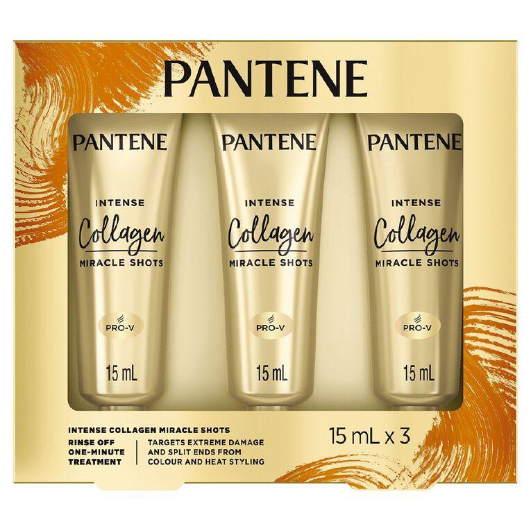Pantene Collagen Intense Miracle Shot 3 x 15ml, , hi-res