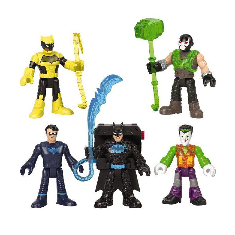 Fisher-Price Imaginext DC Bat-tech 5 Pack Figure Assorted, , hi-res