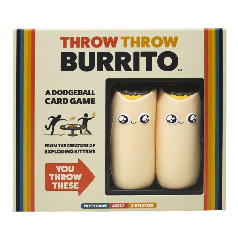 Throw Throw Burrito Game, , hi-res