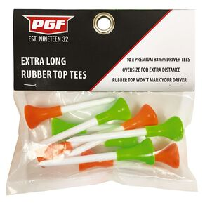 PGF Extra Long Tee 10 Pack