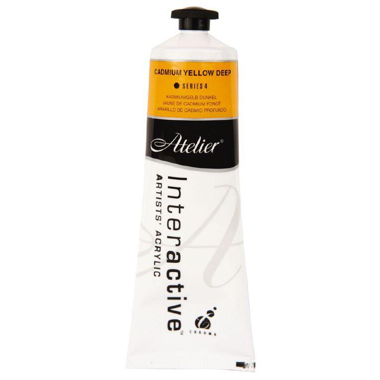 Atelier S4 Cadmium 80ml Yellow Deep Yellow, , hi-res