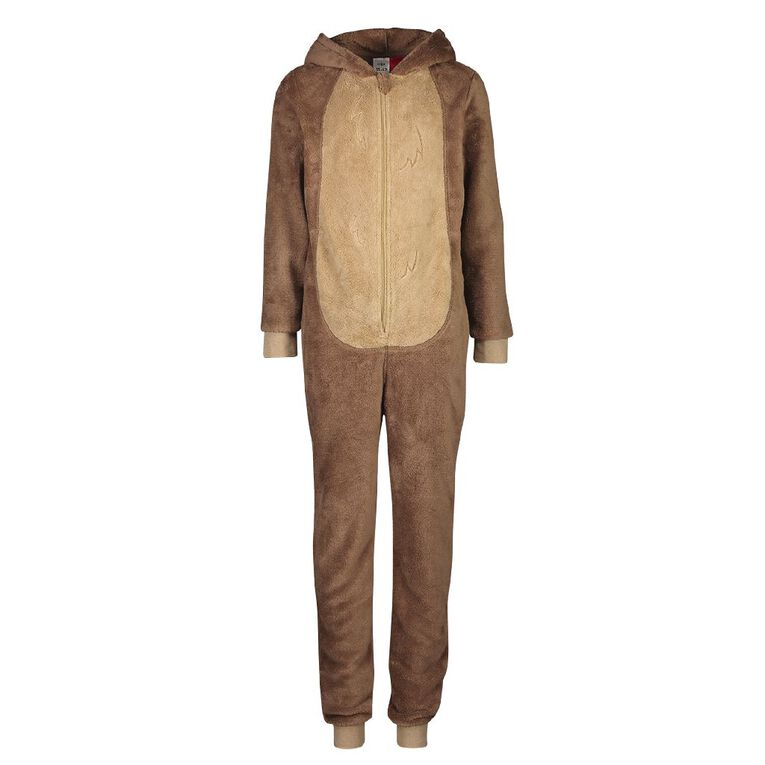 H&H Kids' Bear Onesies, Brown, hi-res image number null