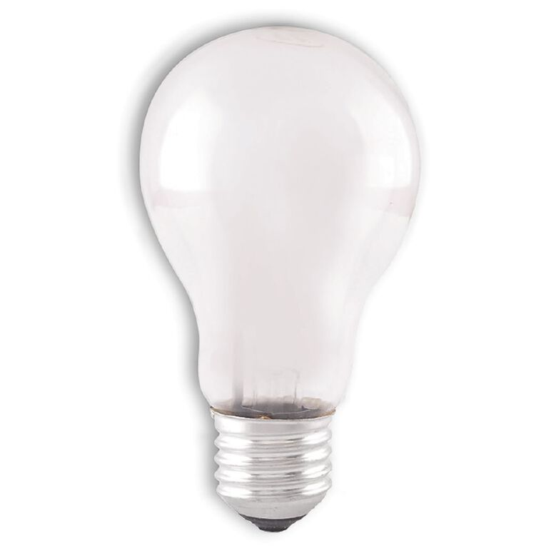 Edapt Halogen E27 Classic Light Bulb Frosted 100w Warm White, , hi-res