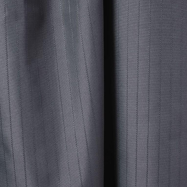 Living & Co Demi Curtains Charcoal 150cm Wide/160cm Drop, Charcoal, hi-res