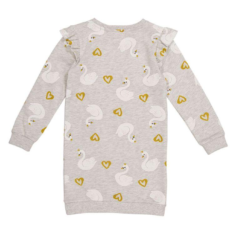 Young Original Flutter Dress, Grey Light, hi-res