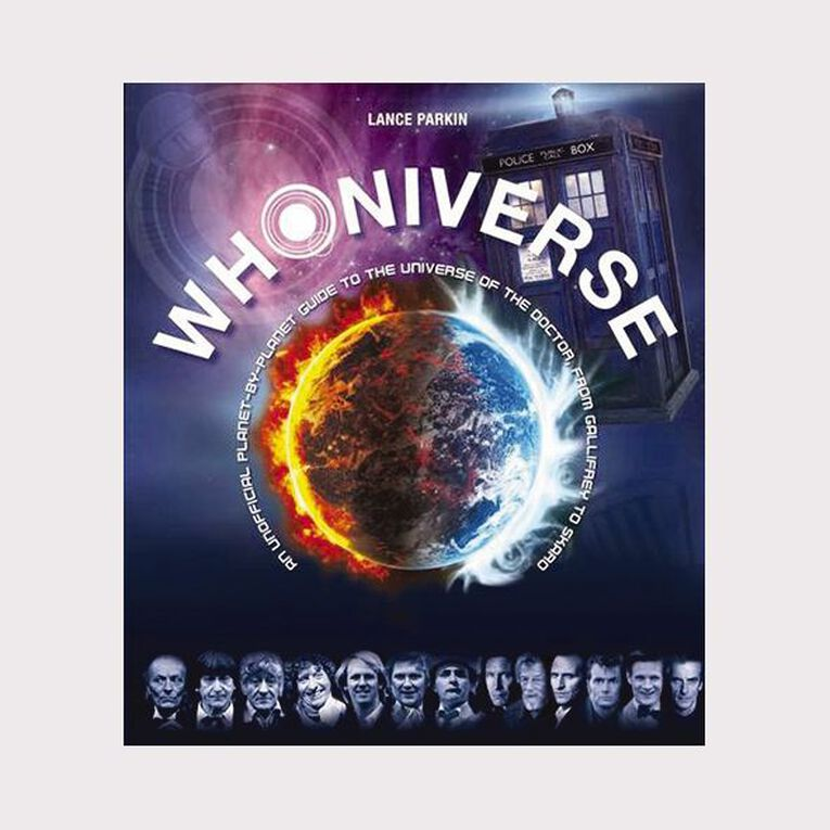 Whoniverse by Lance Parkin, , hi-res