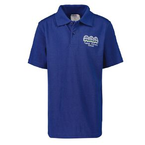 Schooltex Tuakau Primary Short Sleeve Polo with Embroidery