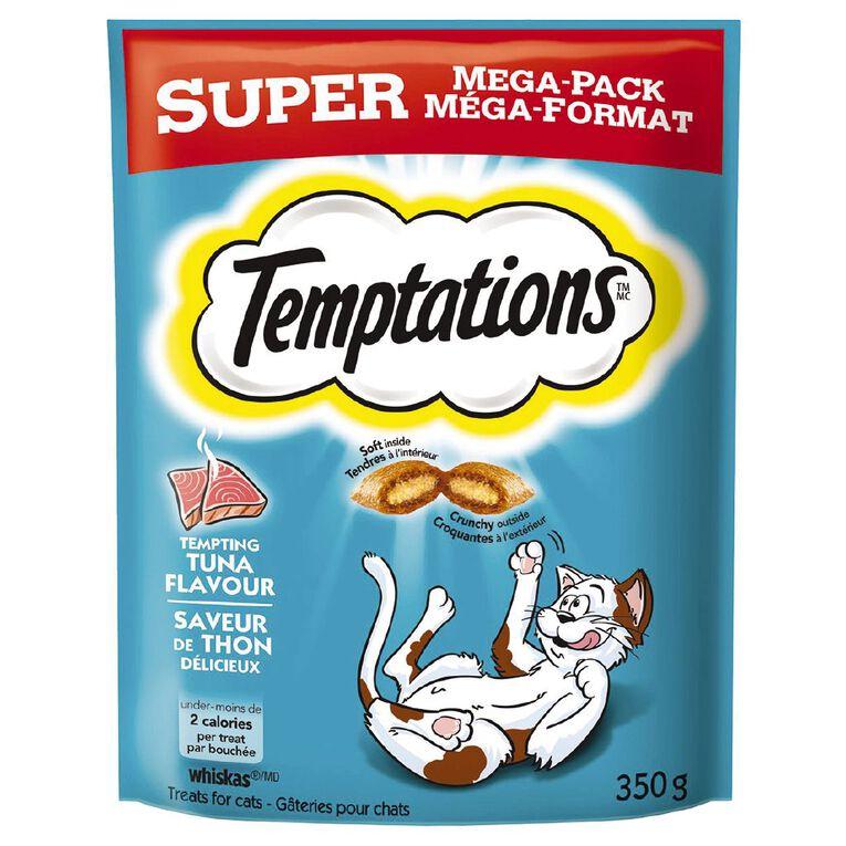 Temptations Cat Treats Tuna Flavour Super Mega Pack 350g Bag, , hi-res