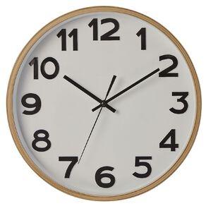 Living & Co Dune Clock Natural 35cm