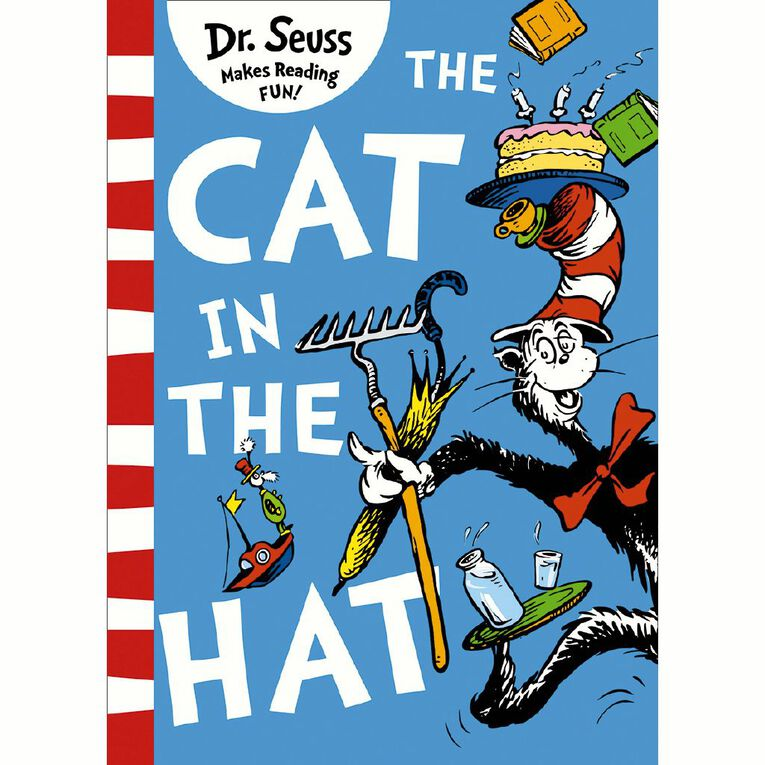 The Cat In The Hat by Dr Seuss, , hi-res