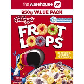 Kelloggs Froot Loops 950g