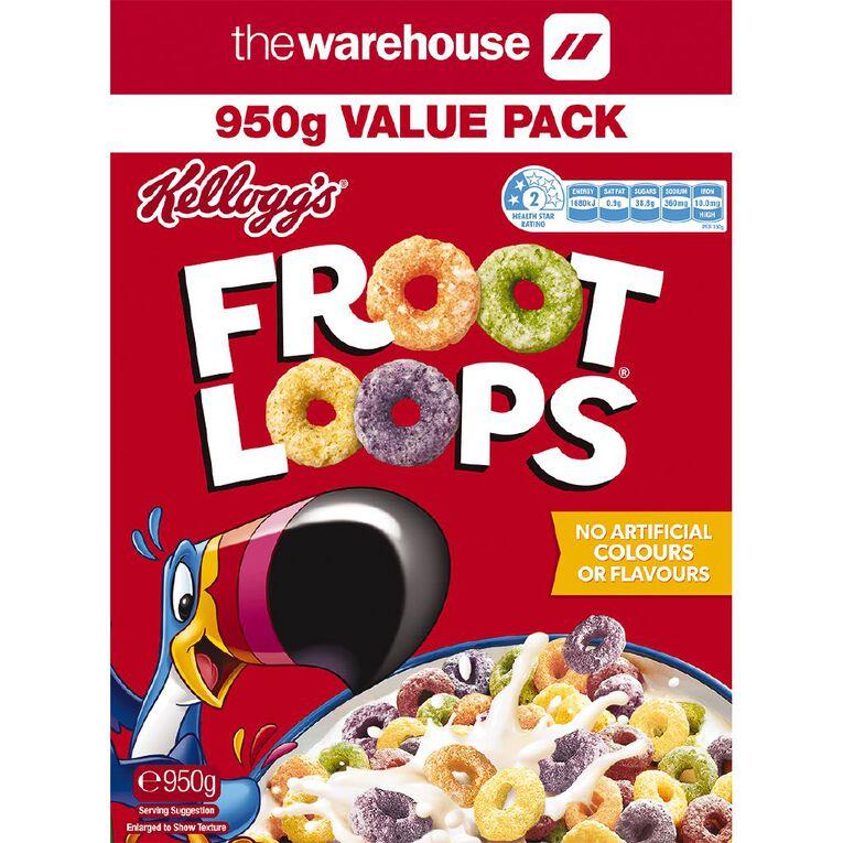 Kelloggs Froot Loops 950g, , hi-res