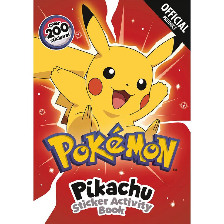 Pokemon: Pikachu Sticker Activity Book, , hi-res image number null