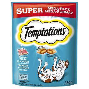 Temptations Cat Treats Tuna Flavour Super Mega Pack 350g Bag