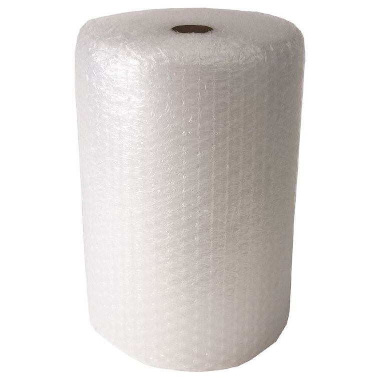 Bubble Wrap Roll 650mm X 650mm x 20m Jumbo Perforated Clear, , hi-res