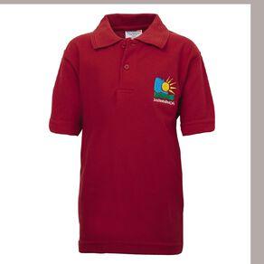 Schooltex Swannanoa Short Sleeve Polo with Embroidery