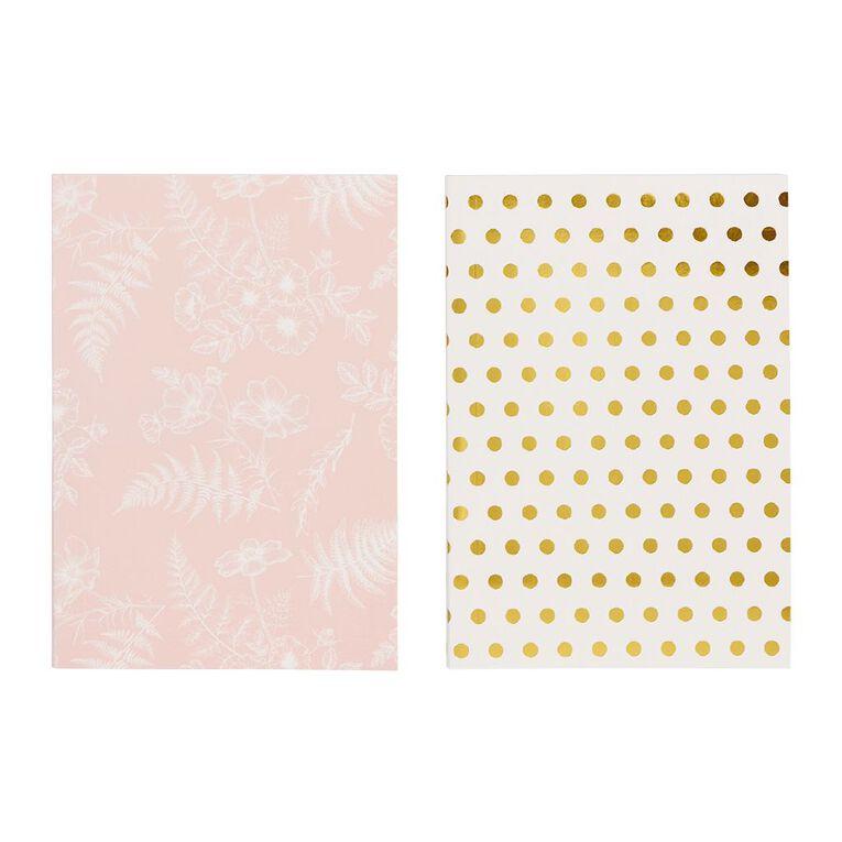 Uniti Kiwi Breeze Notebook 2 Pack White A6, , hi-res