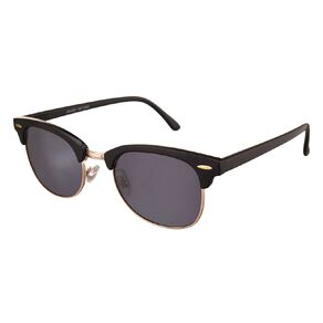 H&H Essentials Black Browline Sunglasses