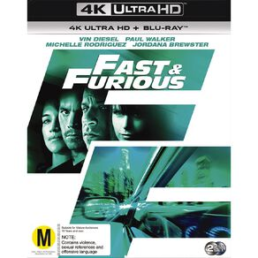 Fast & The Furious 4 4K Blu-ray 2Disc