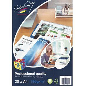 Color Copy Digital Laser 160gsm 30 Pack