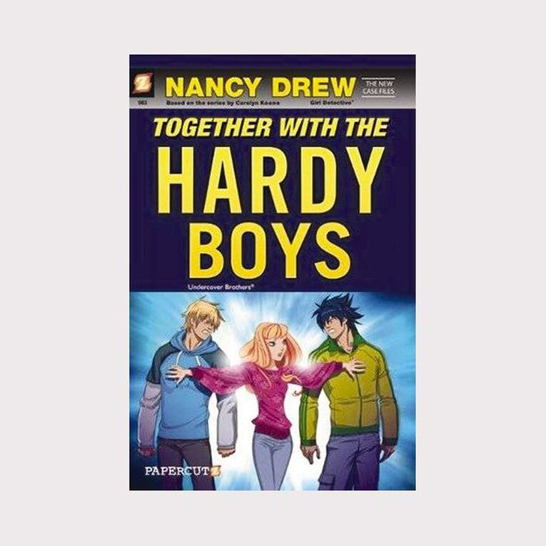 Nancy Drew: Together with the Hardy Boys by Gerry Conway & Sho Murase, , hi-res