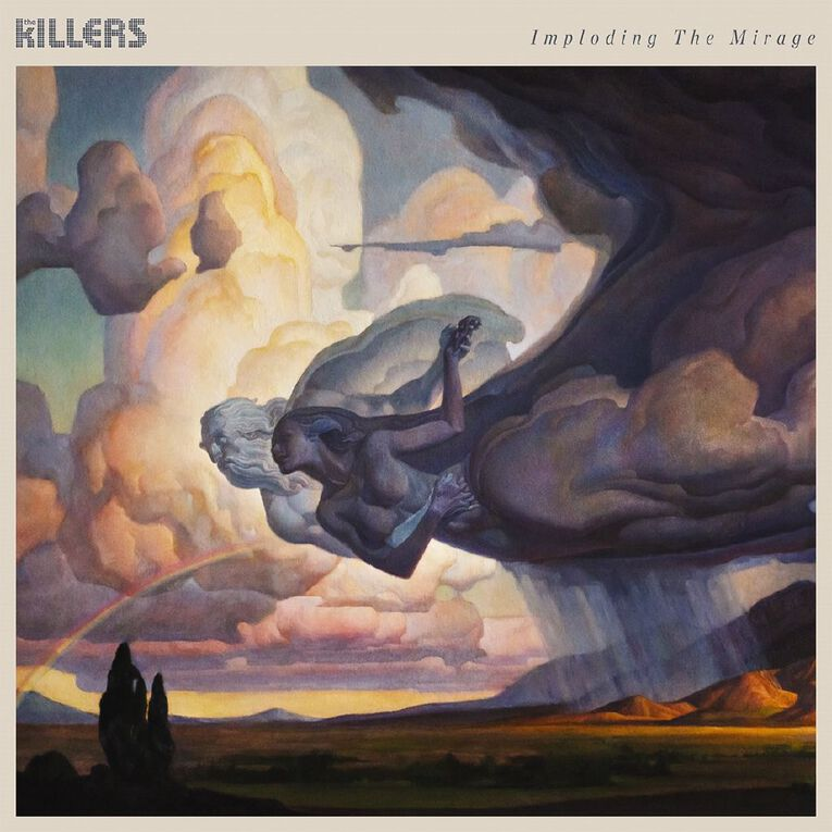 Imploding The Mirage CD by The Killers 1Disc, , hi-res