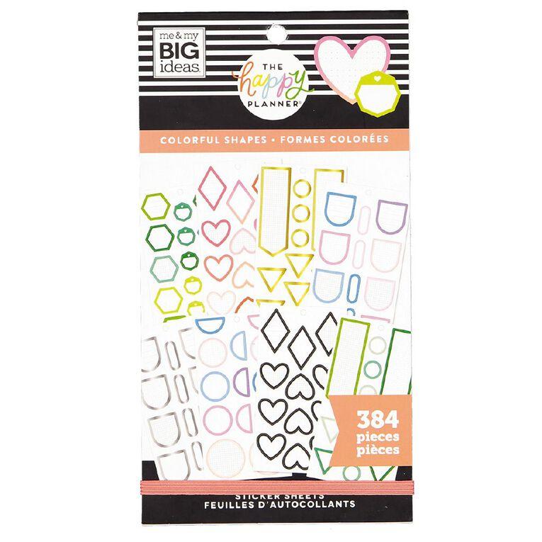 Me & My Big Ideas Sticker Book Shapes, , hi-res
