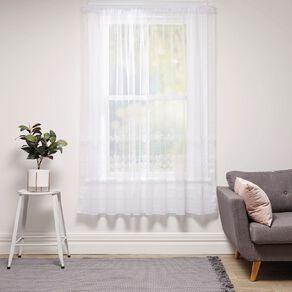 Living & Co Daisetta Net White 150cm x 120cm Drop