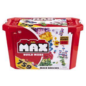 Zuru Max Build More Construction Value Brick Pack 759 Pieces