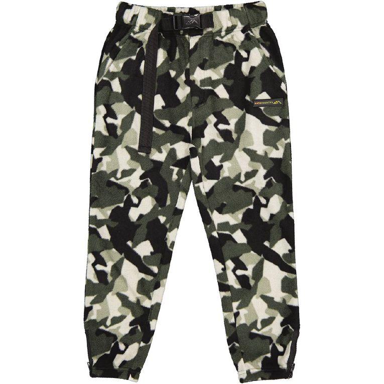 Back Country Microfleece Pants, Khaki, hi-res