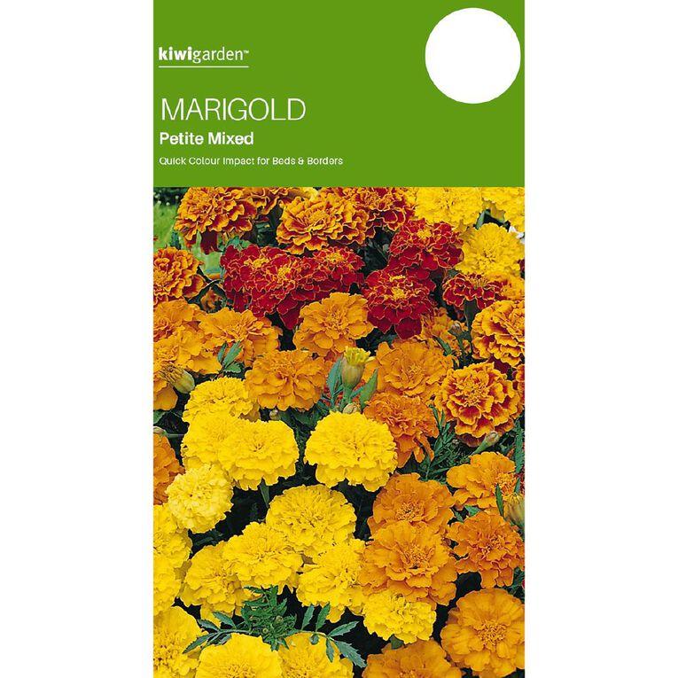 Kiwi Garden Marigold Petite Mix, , hi-res
