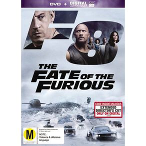The Fate of The Furious 8 DVD 1Disc