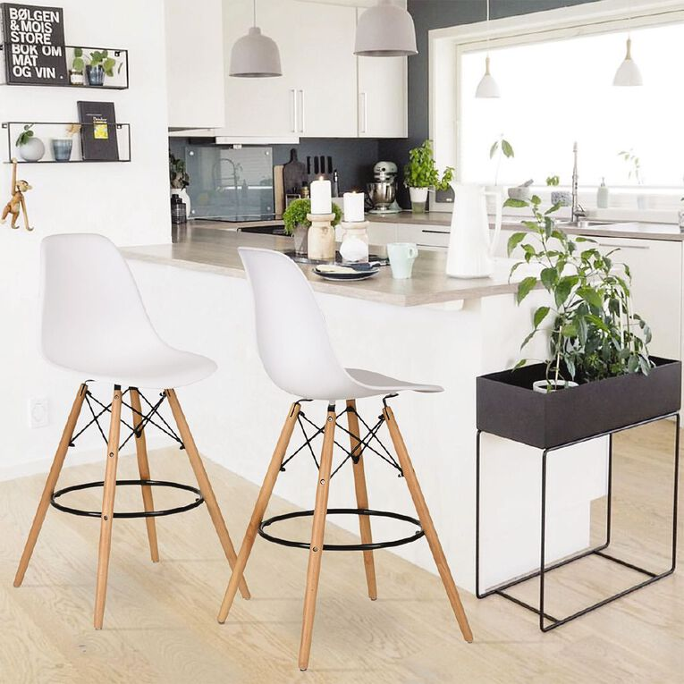 Living & Co Eames Style Barstool, , hi-res