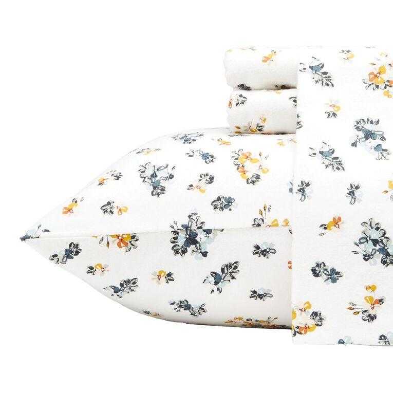 Living & Co Sheet Set Cotton Flannel Beatrice King, , hi-res image number null