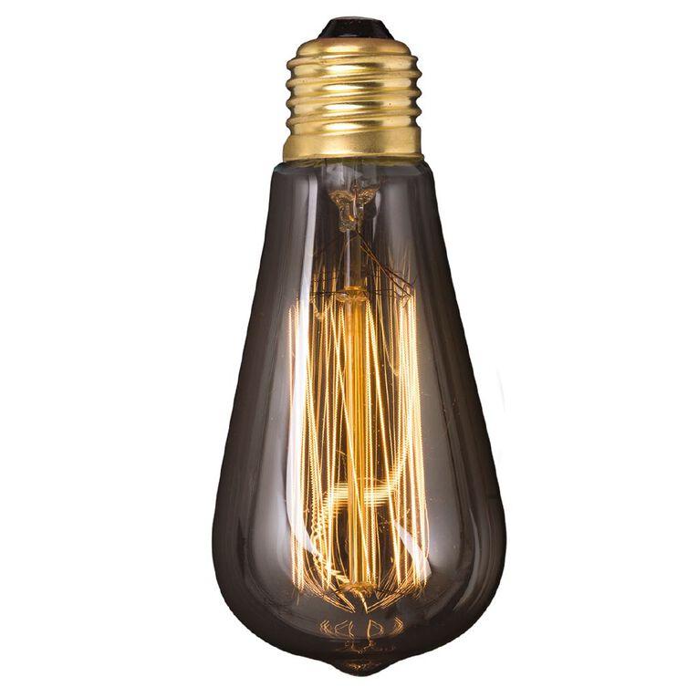 Living & Co Vintage E27 Light Bulb St64 40w, , hi-res