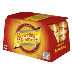 Schweppes Sparkling Duet 330ml 6 Pack