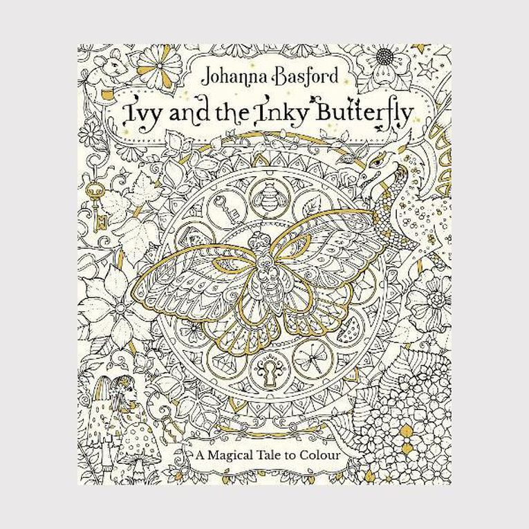 Ivy and the Inky Butterfly by Johanna Basford, , hi-res