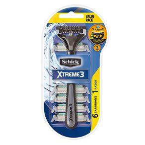 Schick Xtreme3 Disposable Razor 6+1 Value Pack