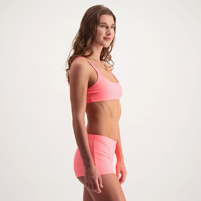 H&H Women's Sports Crop Top, Coral, hi-res image number null
