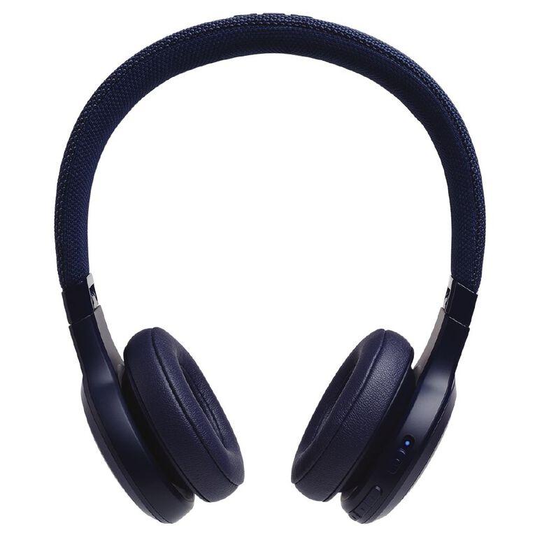 JBL Live 400BT On-Ear Wireless Headphones Blue, , hi-res
