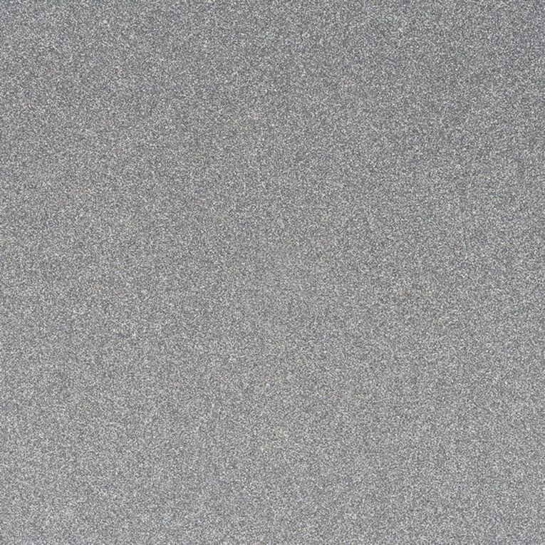 American Crafts Cardstock Glitter Medium 12 x 12 Silver, , hi-res